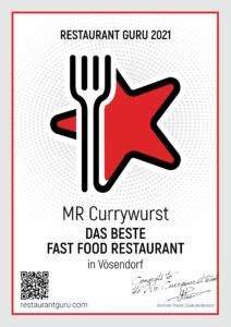 Restaurant Guru Auszeichnung